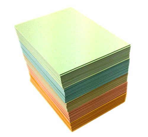 - Double A - Small Loose Memo Sheets, 60 x 83mm Size, 80gsm Density, 600 Sheets Per Pack and All Papers Contained in Paper Box, Assorted 5 Light Pastel Colours