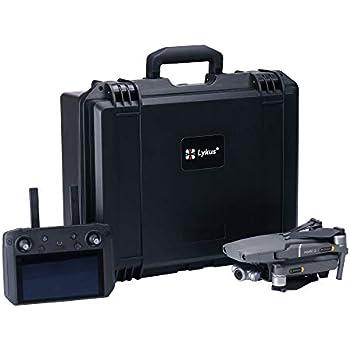 Neck Lanyard for DJI Mavic 2 Pro//Zoom Smart Controller Accessories Kit Tempered Screen Film RC GearPro Waterproof Carrying Case