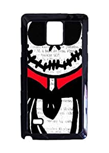 Kingsface Engood Design The Nightmare Before Christmas Jack on Red case cover Durable Unique lUtmPTpceld Design Hard Back case cover For Samsung Galaxy Note 4 New