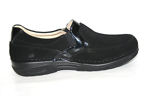 Scarpe Pantofola Basse Cecilie 01900 Nero 962 amp; Berkemann Donna pfTgnSw