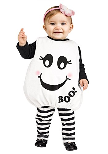 Baby Boo Ghost Infant Costume (Ghost Halloween Costumes For Toddlers)