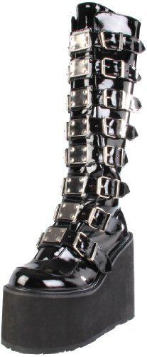 Demonia Swing-815 - gotica Industrial punk mega plataforma botas zapatos unisex - tamaño 36-43, US-Damen:EU-38 / US-8 / UK-5