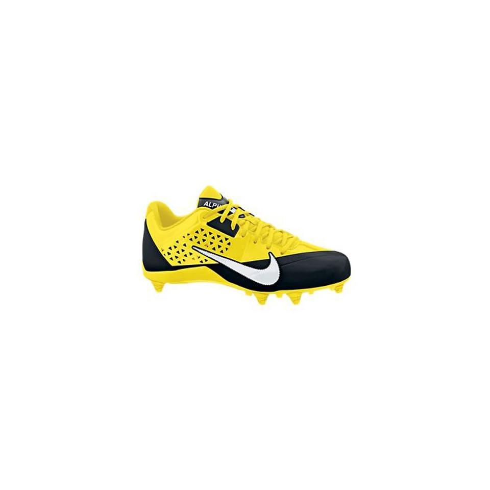 New Nike Alpha Strike D Yellow/Black Mens 12