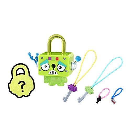 (Hasbro Lock Stars Green Square Robot)