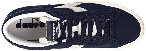 Diadora Tennis 270 S H - Zapatillas de Piel para hombre Blu Prugna/Bianco