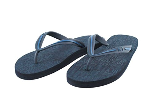 Armani Jeans Schuhe Shoe Sandalen Badeschuhe Zehensandalen C6561 blau