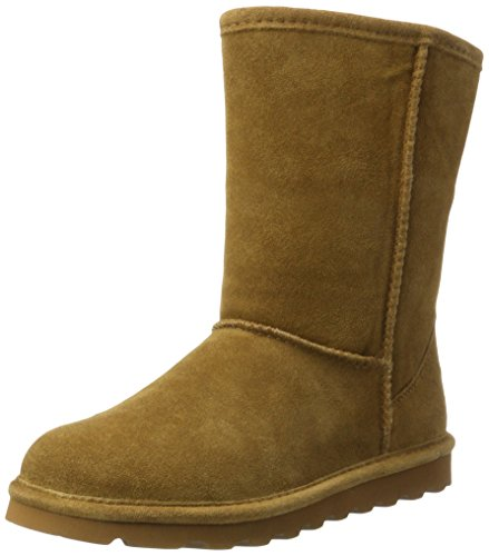 BEARPAW Women's ELLE Short Fashion Boot, Hickory ii, 8 M US from BEARPAW