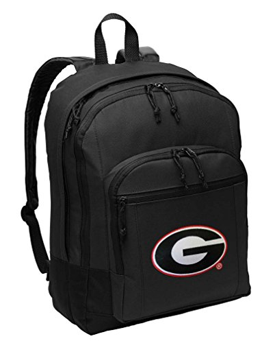 - University of Georgia Backpack Classic Style Georgia Bulldogs Backpack Laptop Sleeve