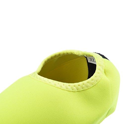 Chaussettes Hjuns® Green Natation Unisexe Plongée Chaussures Avec Court Surf Tuba qTvxTwtfr