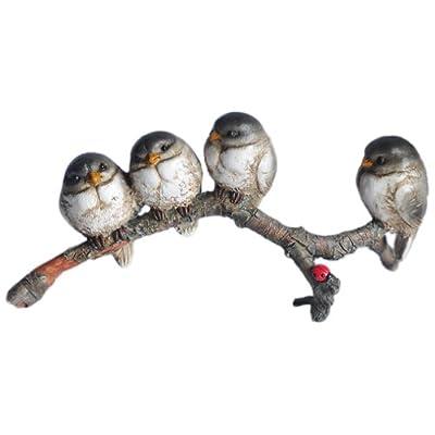 Top Collection Enchanted Story Fairy Garden Birds in Harmony Outdoor Statue: Garden & Outdoor