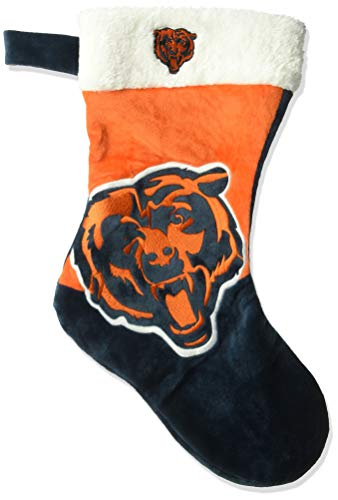 FOCO NFL Chicago Bears 2018 Basic Holiday Stocking, Team Color, One Size