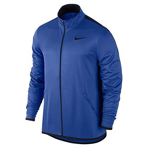 (Nike Men's Jacket Epic Knit (Game Royal/Black, X-Large))