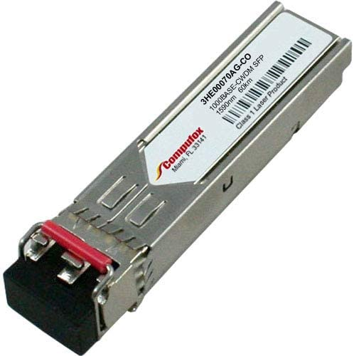 Alcatel-Lucent Compatible 1000Base-CWDM SFP 1590nm 60KM SMF transceiver 3HE00070AG
