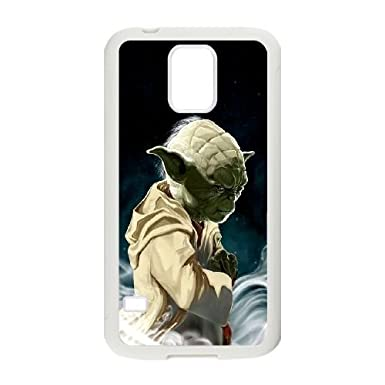 new product cd9b1 04784 Samsung Galaxy S5 Case Covers White Star Wars Yoda J7ER: Amazon.co ...