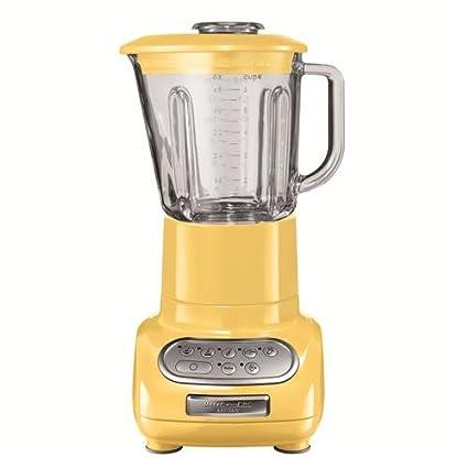 KitchenAid Artisan - Batidora de vaso amarillo