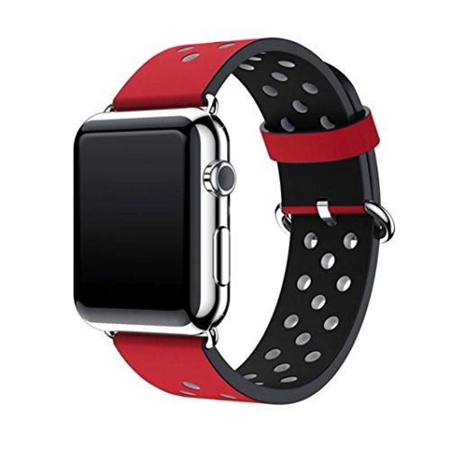 Apple Sunfei Sports Leather Bracelet