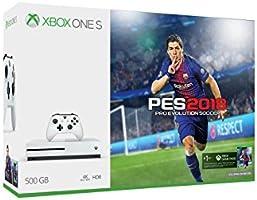 Consola Xbox One S, 500GB con Juego Pro Evolution Soccer 2018 - Bundle Edition