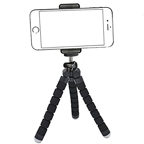 iPhone Tripod,by Ailun,Tripod Mount/Stand,Phone Holder,Compact for iPhone 7/7 Plus,6/6s,6/6s Plus,SE/5s/5/5c,Samsung Galaxy S8/S7/S7 Edge,S6/S6Edge,Note (Iphone 4 Metal Case With Screws)