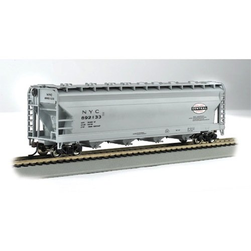 Bachmann Trains New York Central-Gray 56' Acf Center-Flow Hopper-Ho Scale