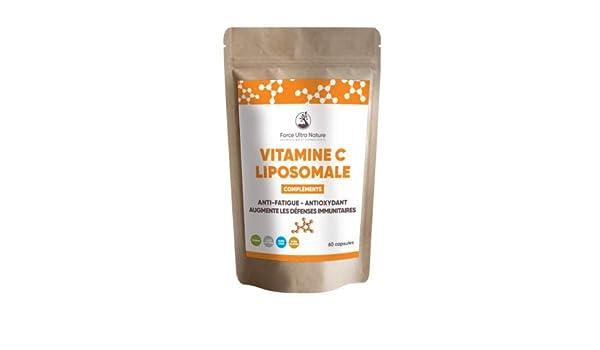 Vitamina C Liposomal (90 cápsulas): Amazon.es: Salud y cuidado personal