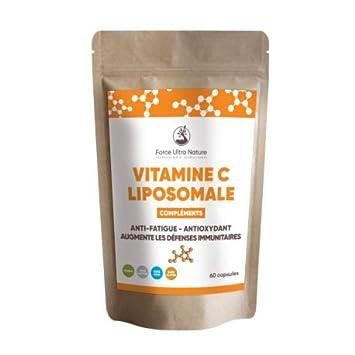 Vitamina C Liposomal (90 cápsulas): Amazon.es: Salud y ...
