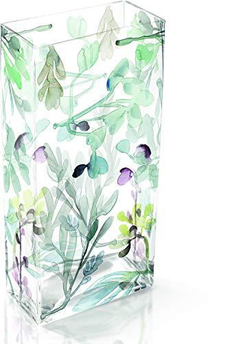 Fringe Studio Leaves Eve Large Glass Vase