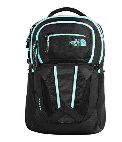 - The North Face Women's Recon, TNF Black/Mint Blue, OS