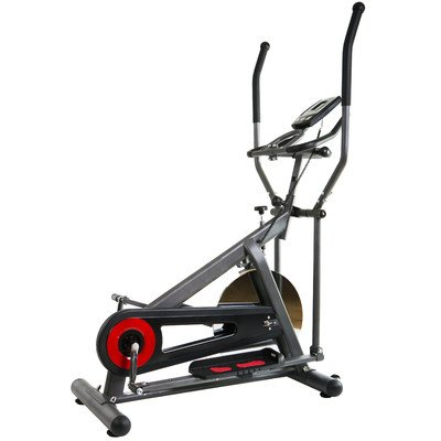 Body Power Elliptical Cross Trainer with Monitor Red/Black