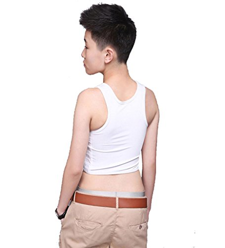 Breathable Buckle Short Chest Breast Binder Trans Lesbian