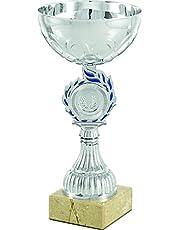 art-trophies at81193 Trofee Sport, zilver/blauw, eenheidsmaat