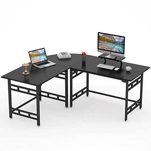 Computer Desk Pc Laptop Wood Table Home Office Study: Tribesigns Large Modern L-Shaped Desk Corner Computer