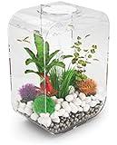 biOrb LIFE 15 Aquarium with LED Light - 4 Gallon, Clear