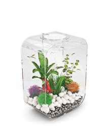 biOrb LIFE 15 Aquarium with LED Light – 4 Gallon, Clear