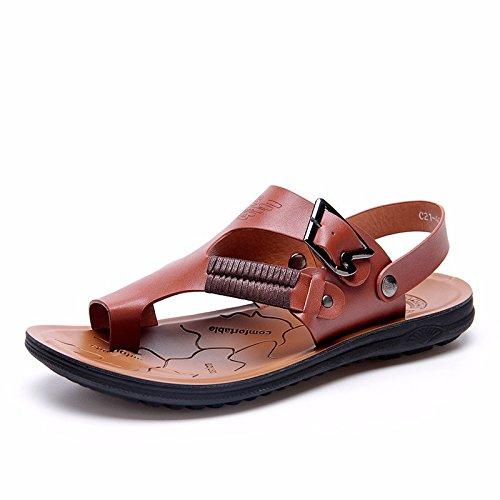 Il nuovo Uomini sandali Uomini estate traspirante Spiaggia scarpa Uomini sandali Uomini Antiscivolo Tempo libero scarpa ,Marrone,US=7.5,UK=7,EU=40 2/3,CN=41