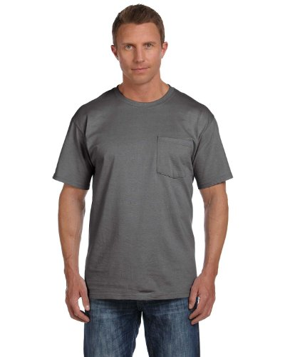Heavy Chest Pocket shirt With Cotton Grey Hdtm Left Charcoal T A Delifhted 48wBqdq