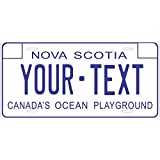 Nova Scotia 1972 Personalized Custom Novelty Tag Vehicle Car Auto Motorcycle Moped Bike Bicycle License Plate