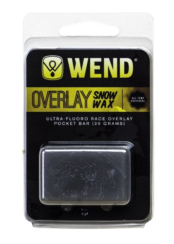 Wend Overlay Cube Universal Wax Bar, 20gm, Grey by Wend