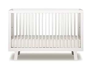 Oeuf Sparrow Crib, White