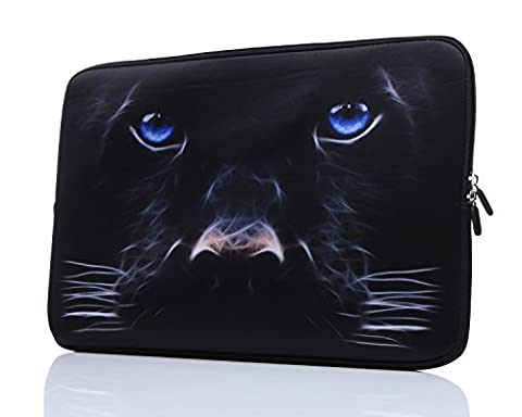 15-Inch to 15.6-Inch Laptop Sleeve Carrying Case Neoprene Sleeve For Acer/Asus/Dell/Lenovo/Macbook Pro/HP/Samsung/Sony/Toshiba, Black - 15 Inch Laptop