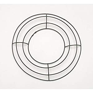 Darice Bulk Buy DIY Crafts Metal Wreath Form Green 8 inches (10-Pack) 170100 44