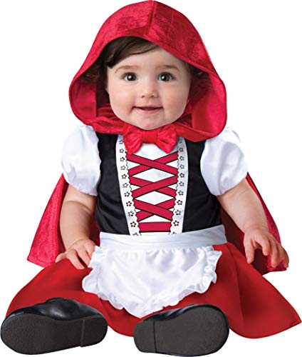 Infant Girls Baby Red Riding Hood Costume Size 6-12 Months -