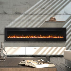 - Napoleon NEFL100FH Allure Linear Wall Mount Electric Fireplace, 100