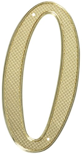 (Stanley Hardware S579-915 CD7130 House Numbers in Brass , 4
