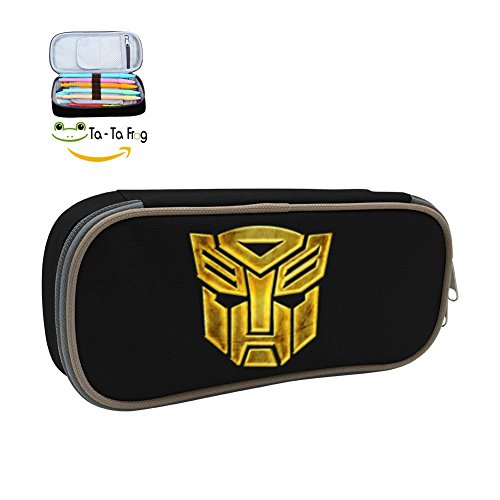 Transformers Pen Case Stationery Pouch Bag Pencil Case Cosmetic Makeup for School Supplies