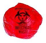 "Biohazard Waste Disposal Bag (10 Gal) 24"" X"