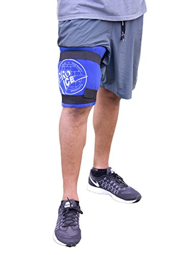Knee/Multi Purpose Ice Cold Therapy Wrap - Gives Therapeutic Icing & Compression for Sports Injuries or Post-Op Treatment. Allows Long Lasting Cooling Effect. Use PI 400 on Either Knee by Pro Ice (Effects Pro)