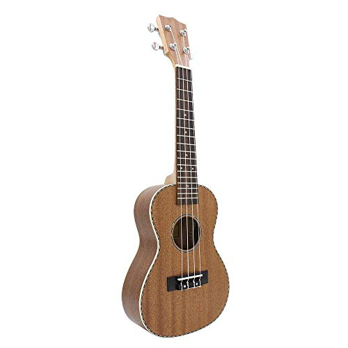 LFDYKLL 23 inch Ukelele lace Edge Guitar 4 Strings Acoustic Guitar -