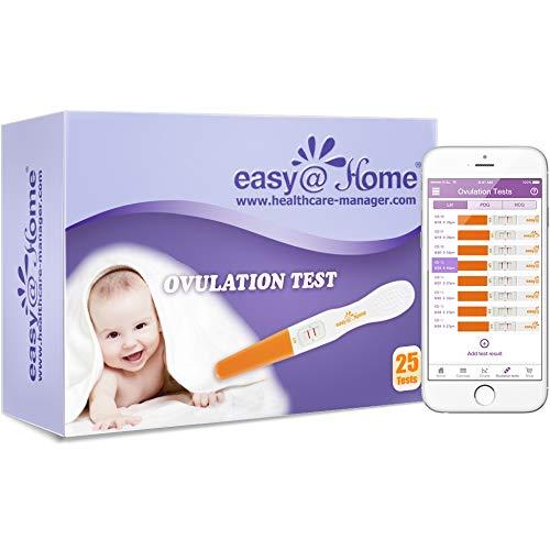 Easy Home 25 Ovulation  Tests - Midstream Test sticks