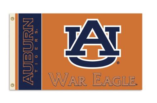 NCAA Auburn Tigers 3-by-5 Foot War Eagle Flag With ()