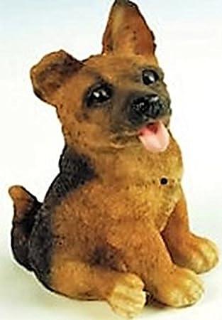 Deko Detector de movimiento perro pastor alemán Wau Wau 23 cm Figura Jardín Alemania PVC gom 88080: Amazon.es: Oficina y papelería